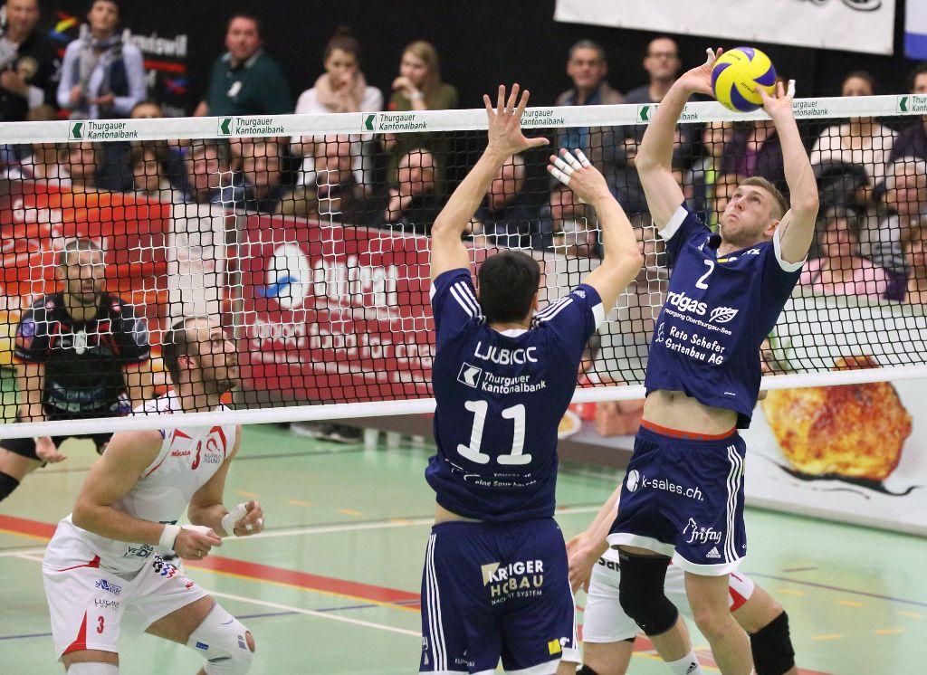 Volley Amriswil siegt klar mit 3:0