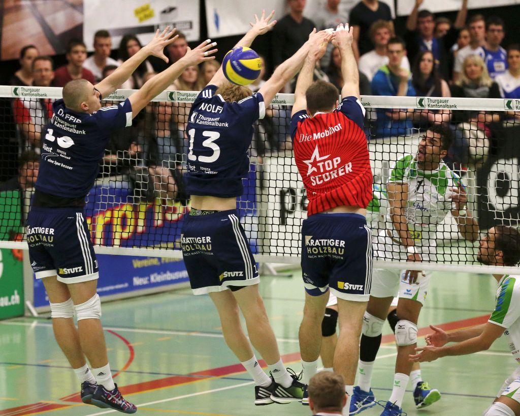 Volley Amriswil gewinnt diskussionslos mit 3:0