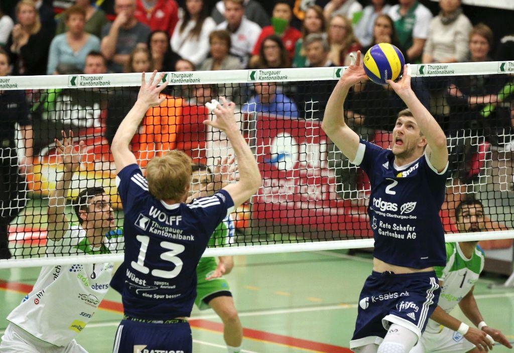 Volley Amriswil steht im Playoff-Final