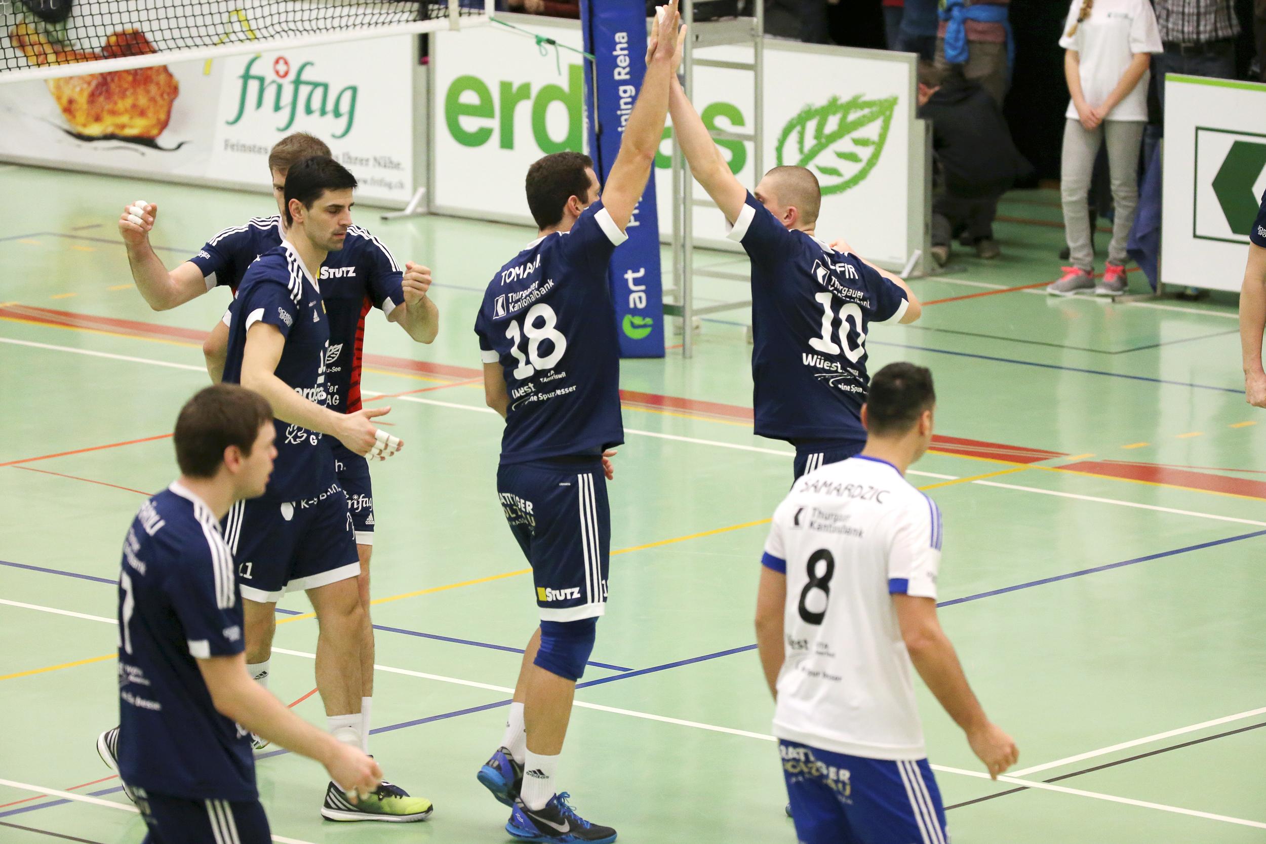 Volley Amriswil kehrt zum Siegen zurück