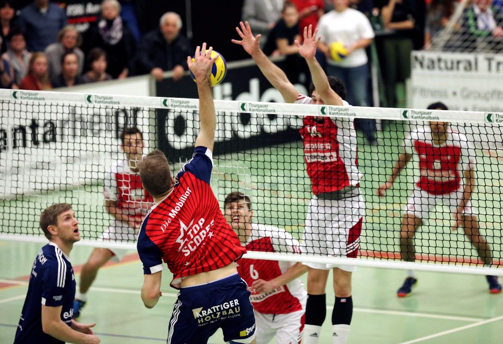 Volley Amriswil verliert in Lausanne