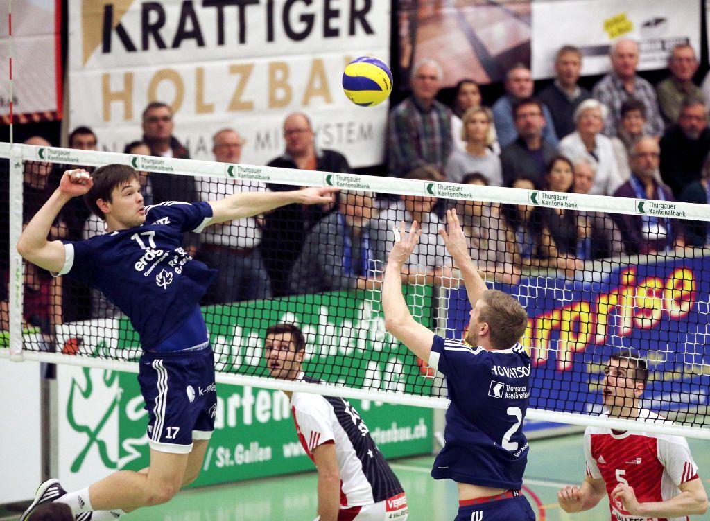 Volley Amriswil verliert gegen Lausanne diskussionslos