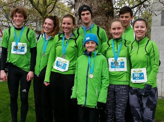 Medaille für Fortis am Zürich Marathon