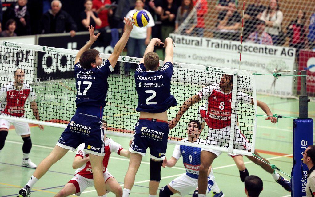 Erstes Spiel im Playoff-Final: Amriswil empfängt Lausanne