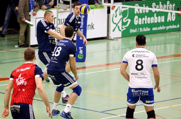 Volley Amriswil verliert nach einem Thriller in Lausanne