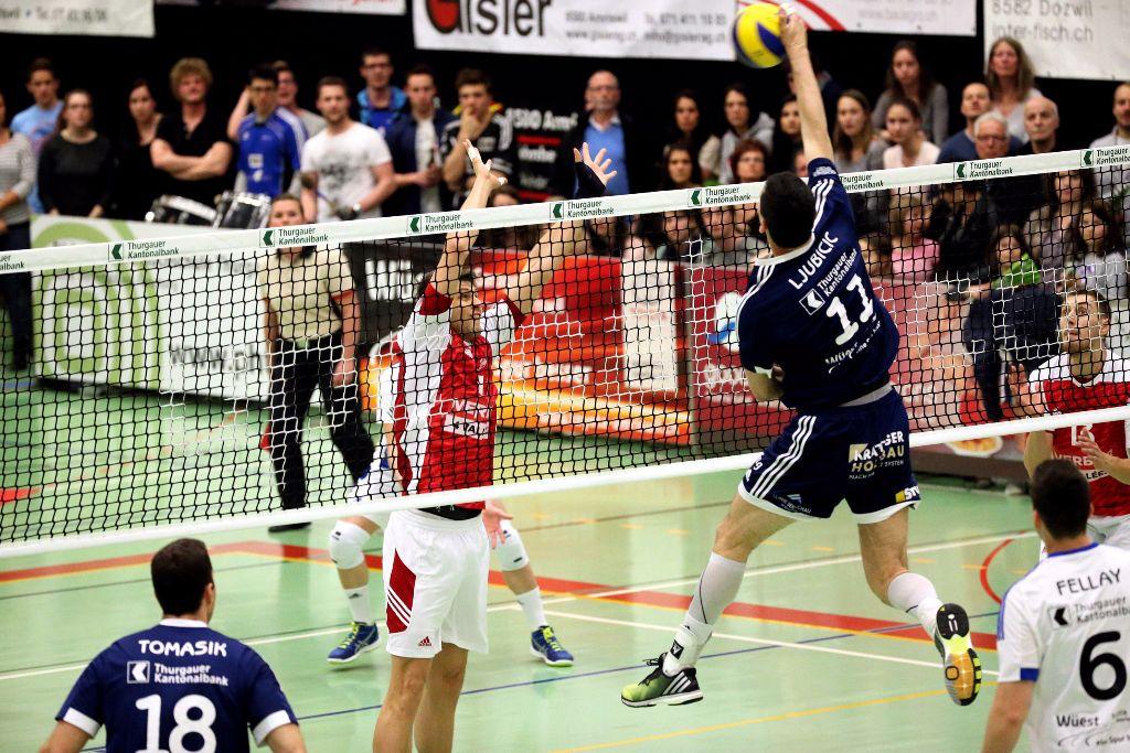 Volley Amriswil reist nochmals nach Lausanne