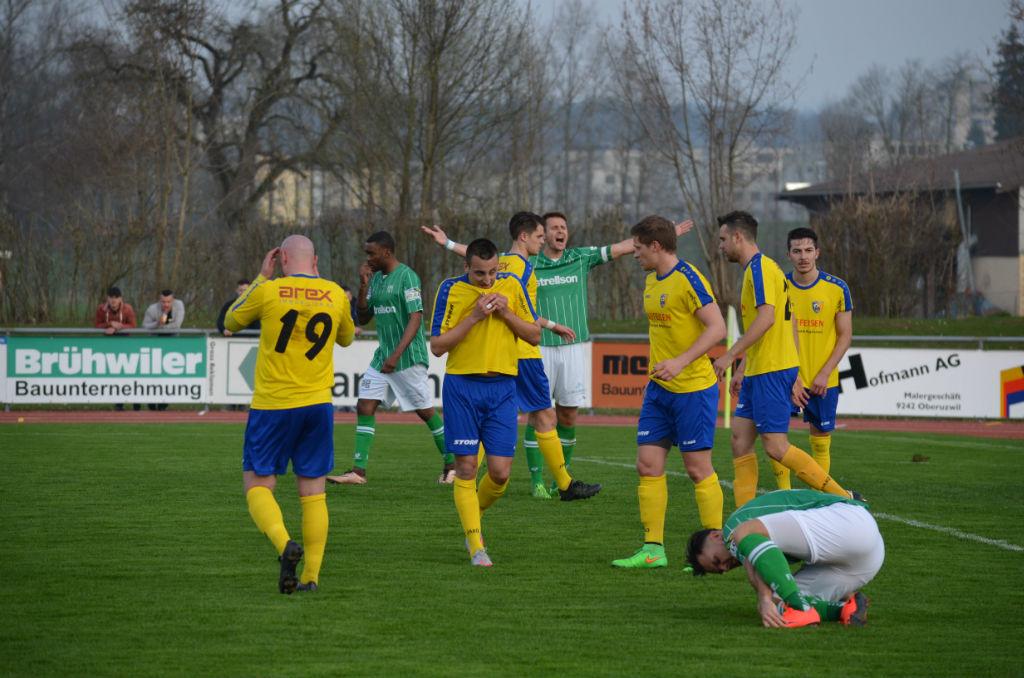 FCK: Chancenlos beim Aufsteiger in Uzwil