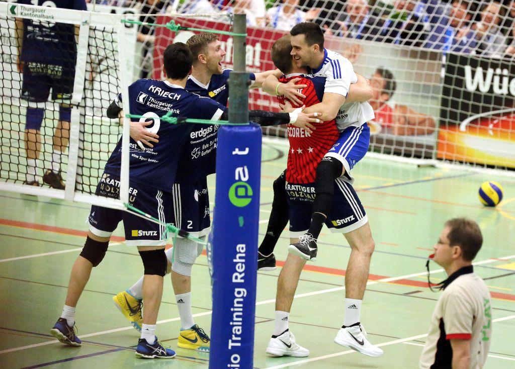 Volley Amriswil geht wieder in Führung