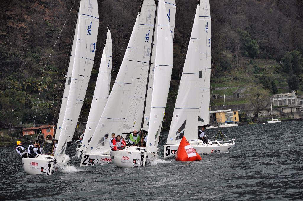 Thunersee Yachtclub übernimmt die Führung in der Finalrunde der Schweizer Segel-Nationalliga