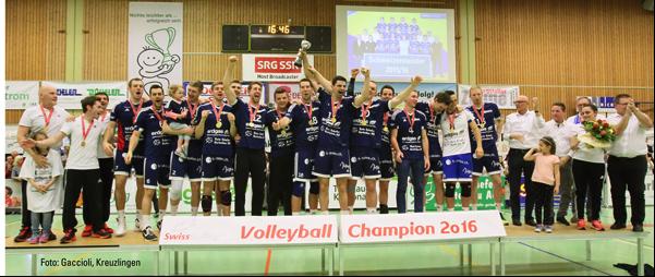 Geschafft: Amriswil ist Schweizer Meister