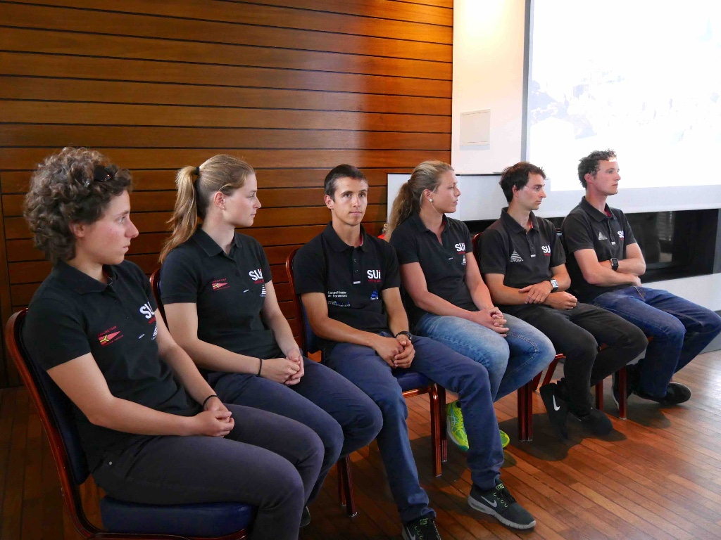 Präsentation Olympisches Segelteam