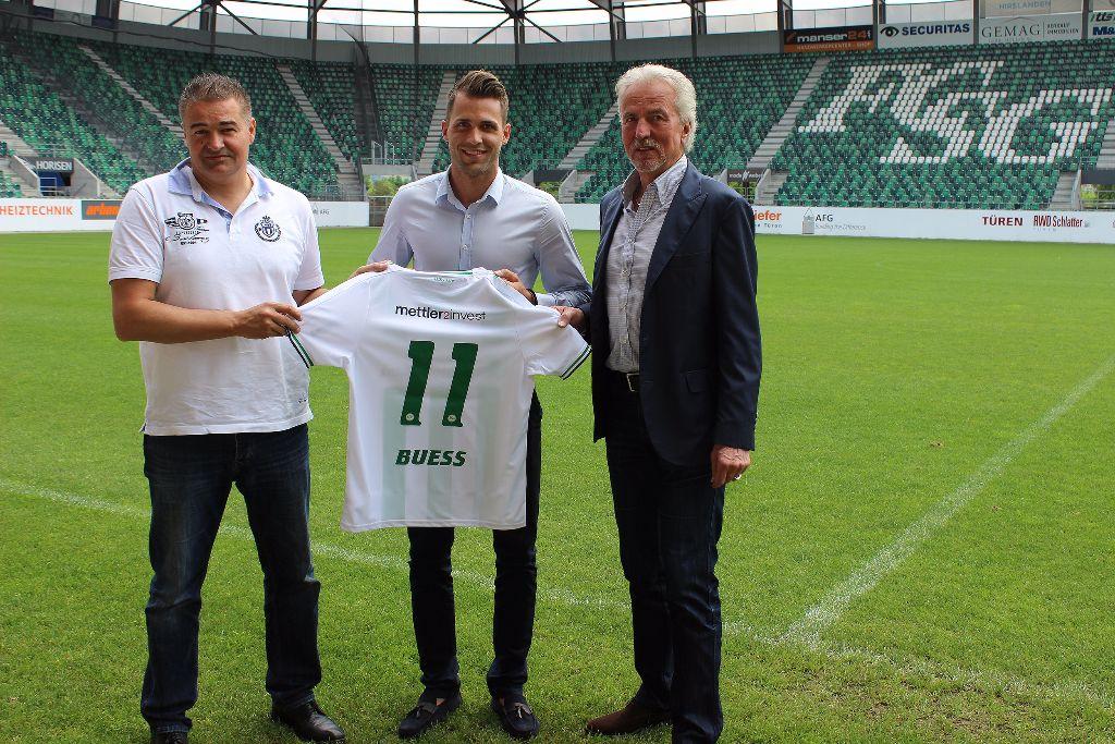 Roman Buess unterschreibt langfristig beim FC St.Gallen 1879
