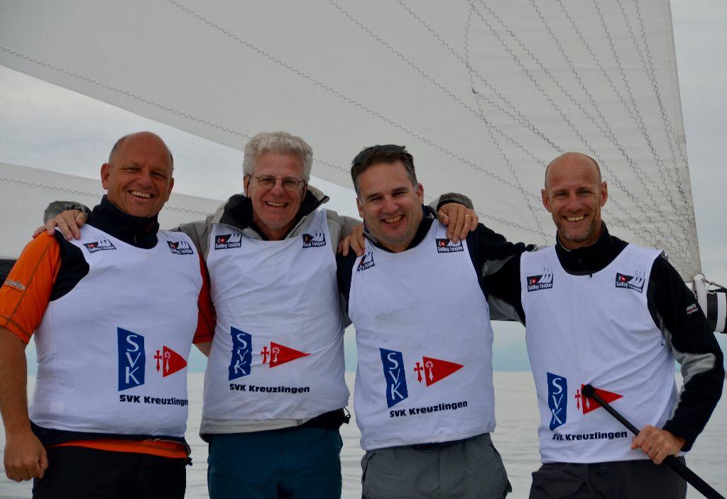 Seglervereinigung Kreuzlingen gewinnt die zweite Runde der Swiss Sailing Challenge League