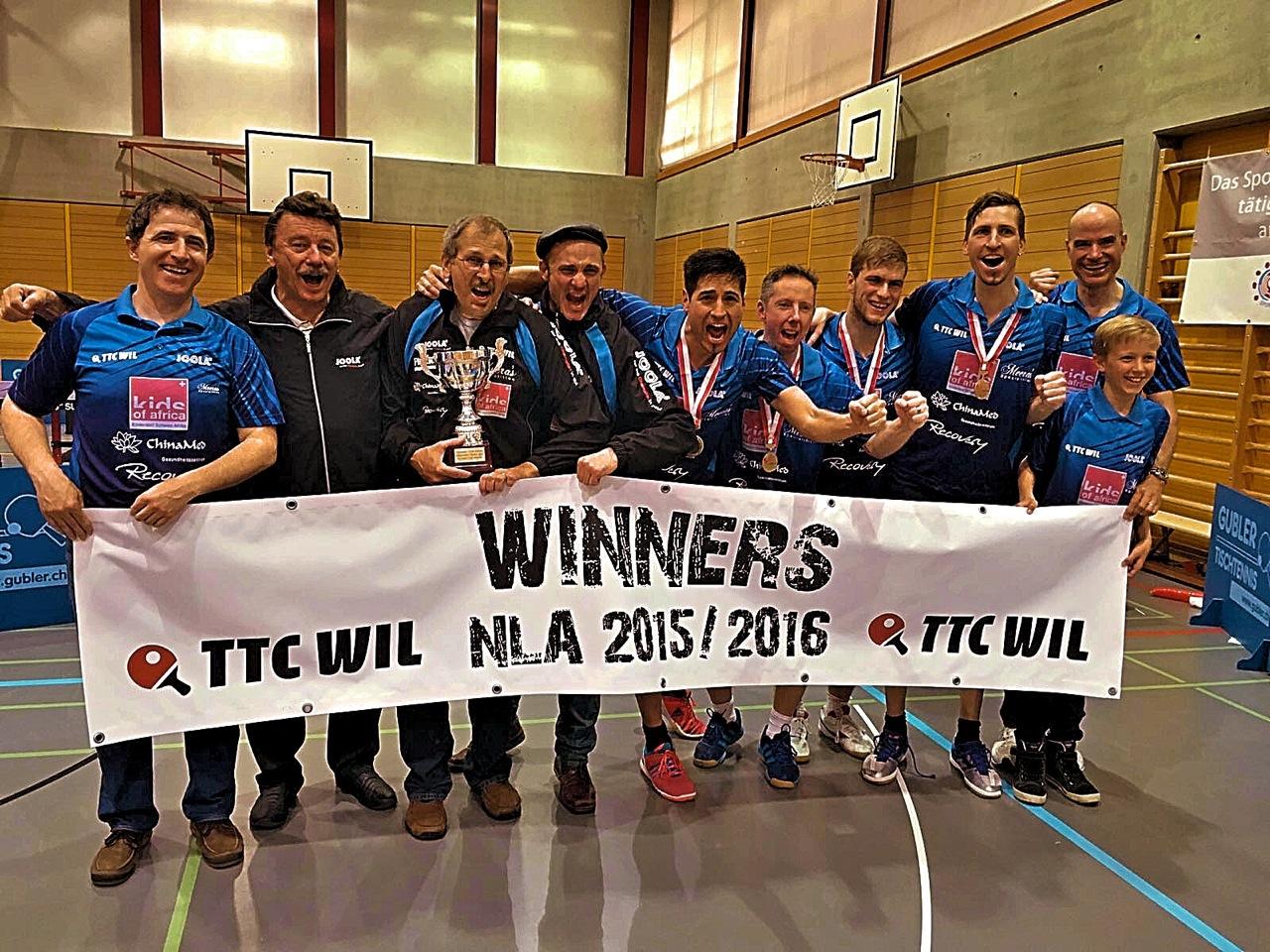 TTC Wil ist Schweizermeister!