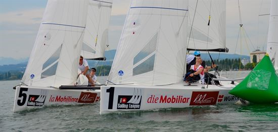Finale der Swiss Sailing Challenge League vor Luzern