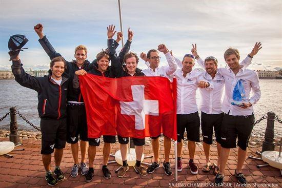 Schweizer Spitzenresultate an der Sailing Champions League in St.Petersburg