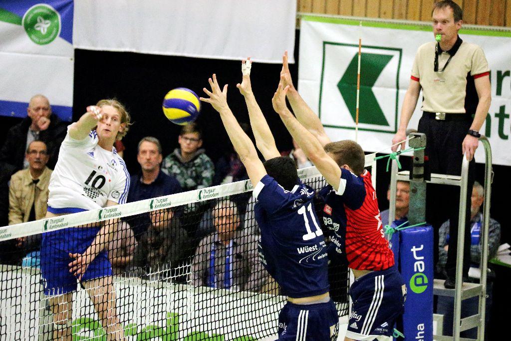 Schönenwerd – ein richtiger Gradmesser für Volley Amriswil