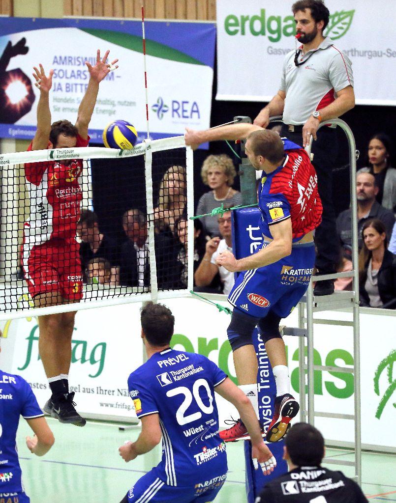 Ein Pflichtsieg für Volley Amriswil