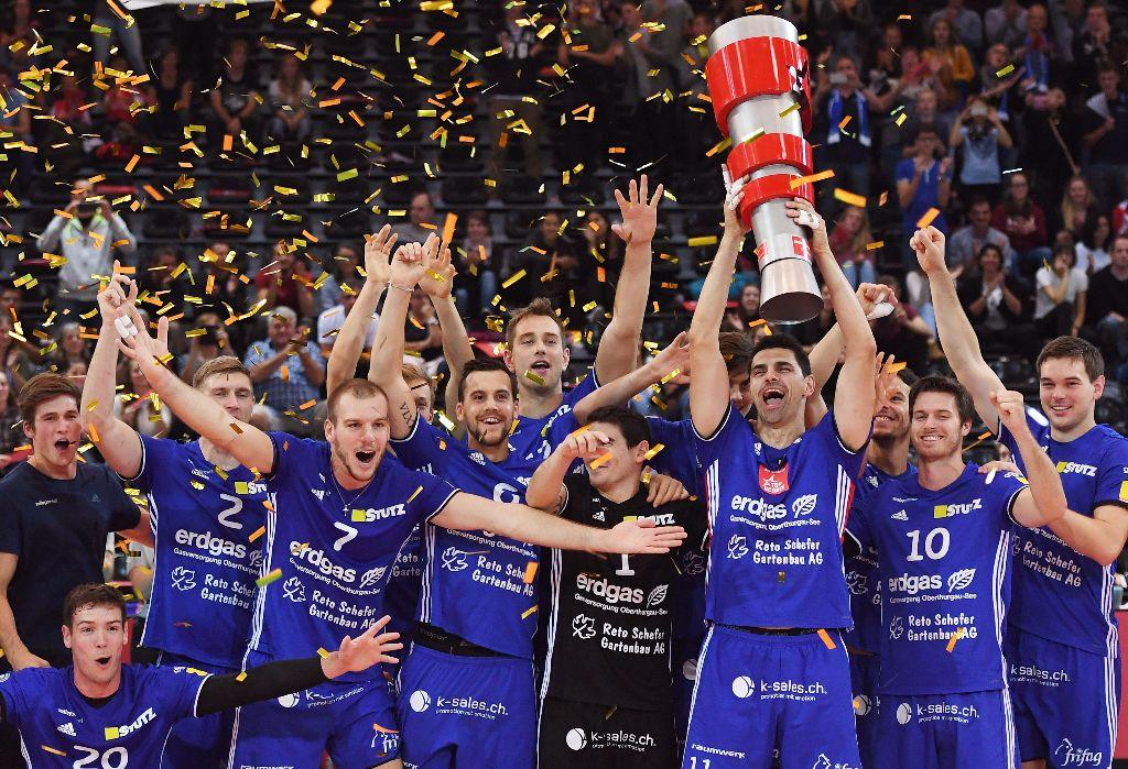 Volley Amriswil gewinnt den Supercup