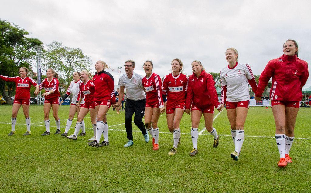 Schweizer Faustballerinnen sichern sich WM-Bronze