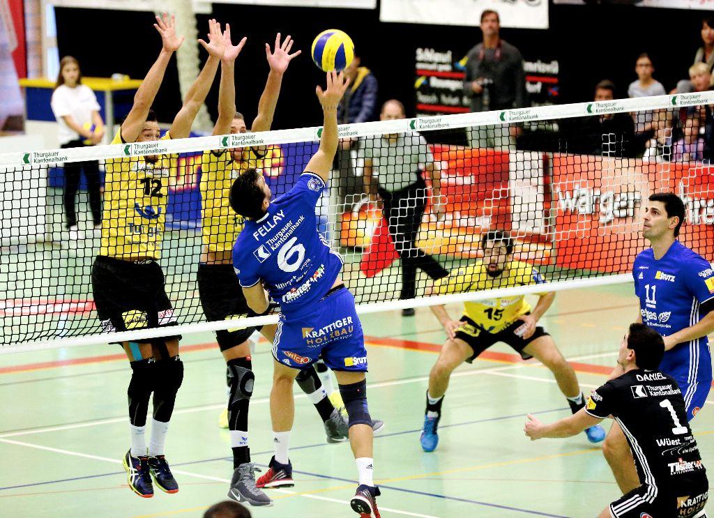 Volley Amriswil gewinnt zweimal klar