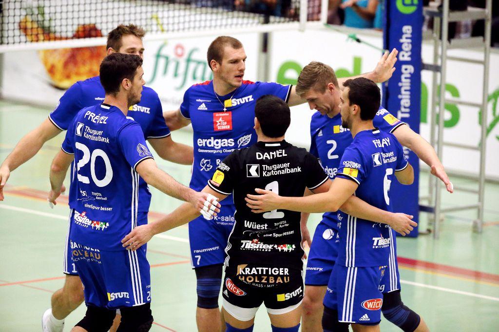 Volley Amriswil gewinnt auch in Lausanne