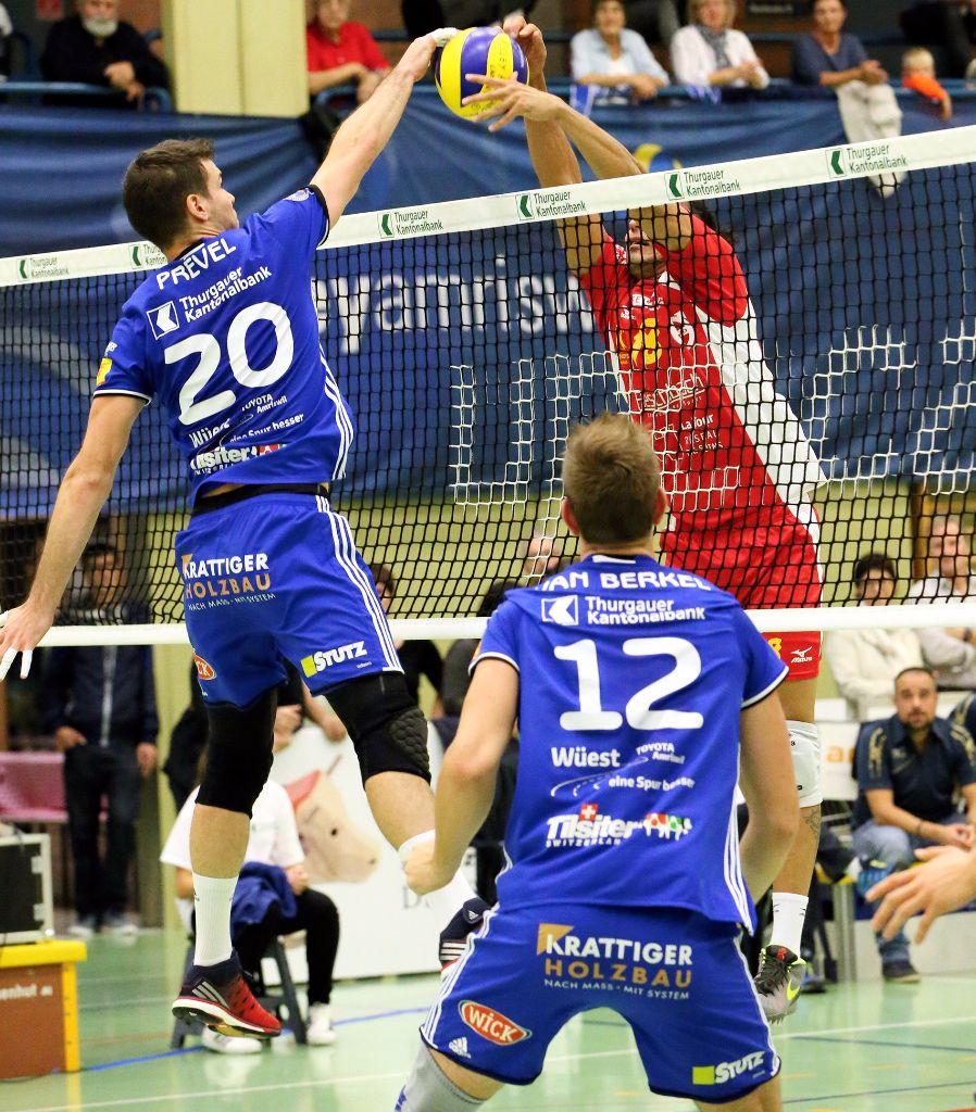 Volley Amriswil gewinnt auch den Spitzenkampf in Schönenwerd