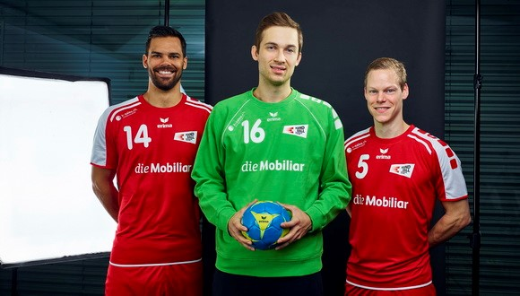 Die Mobiliar ist neuer Presenter der Männer-Handball-Nationalmannschaften