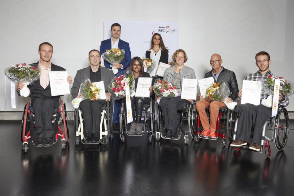 Swiss Paralympic ehrt Athletinnen und Athleten für ihre Leistungen im Paralympics-Jahr 2016