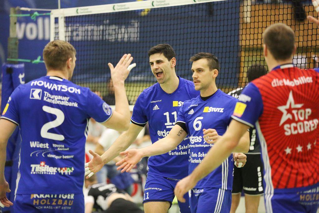 Volley Amriswil schrammt an einer Niederlage vorbei