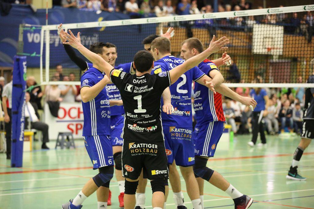 Volley Amriswil überzeugt gegen Näfels