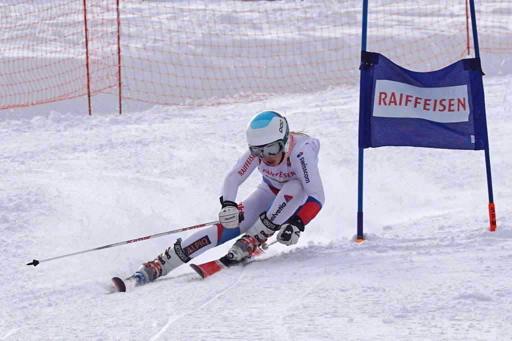 Lara Baumann startet mit Sieg