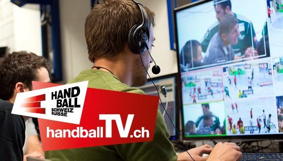 handballTV.ch: 150 Live-Spiele in der ersten Saisonhälfte – Besucherzahl verdreifacht