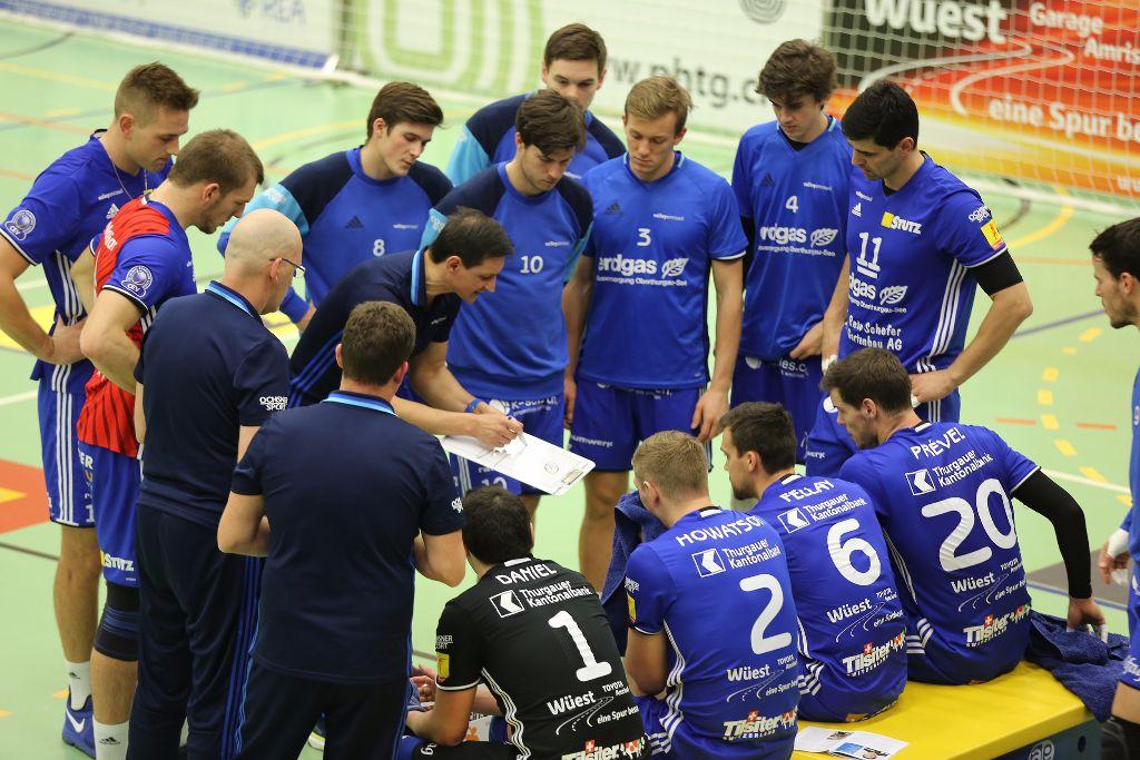 Erste Saisonniederlage für Volley Amriswil
