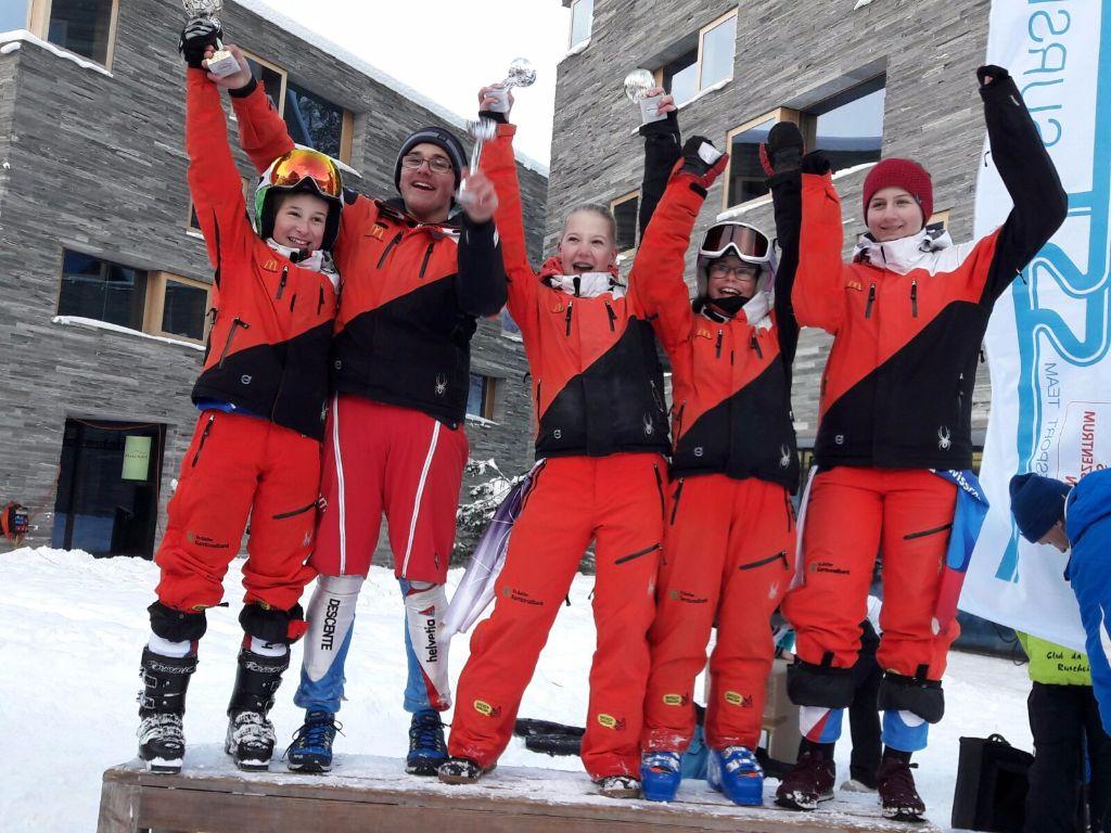 Medaillenreiches Rennwochenende für den Skiclub Gossau