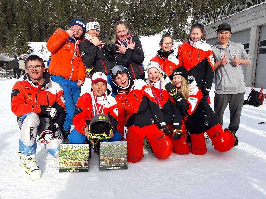 Medaillenreiches Wochenende für den Skiclub Gossau