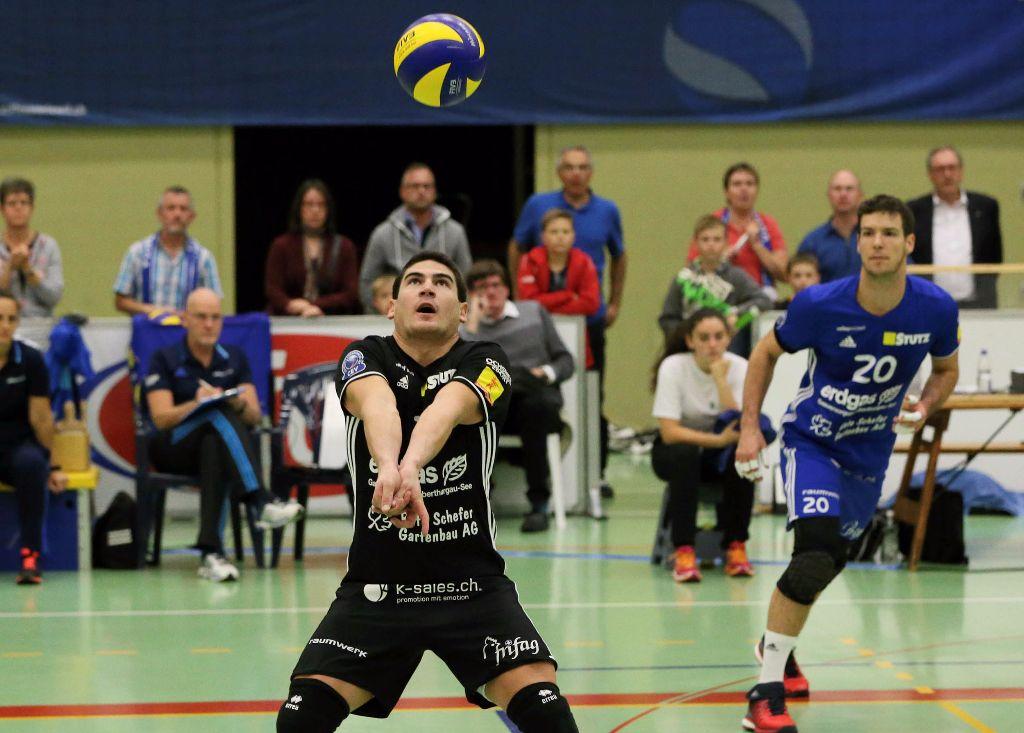 Volley Amriswil siegt nach hartem Kampf