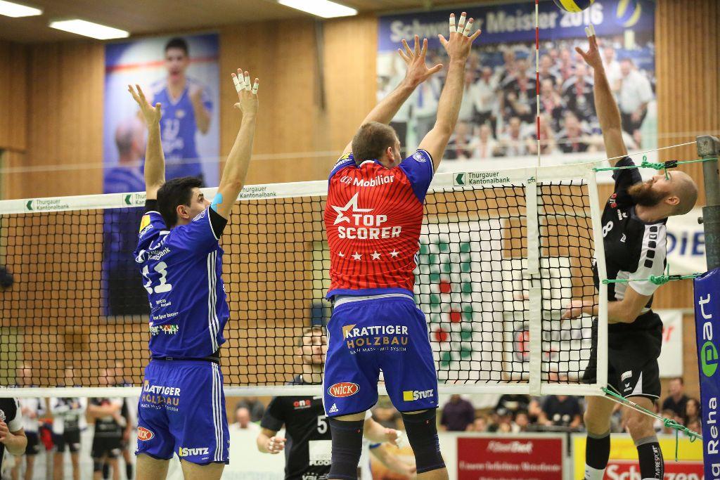 Volley Amriswil gewinnt nach Verlängerung