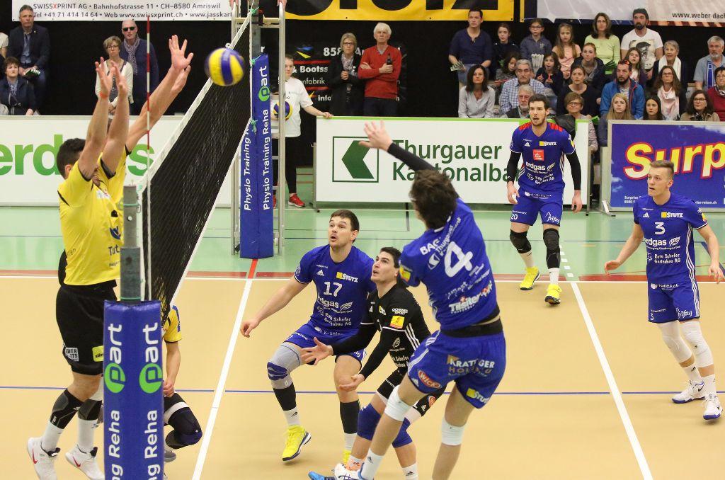 Volley Amriswil schlägt Jona klar