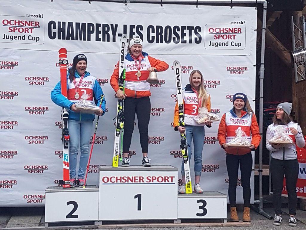 Aline Höpli gleich zweimal Schweizermeisterin an diesem Wochenende
