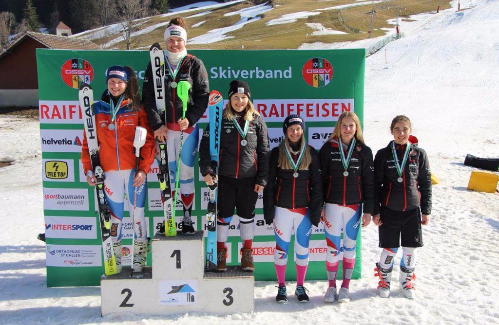 Erfolgreiches Rennwochende für den Skiclub Gossau