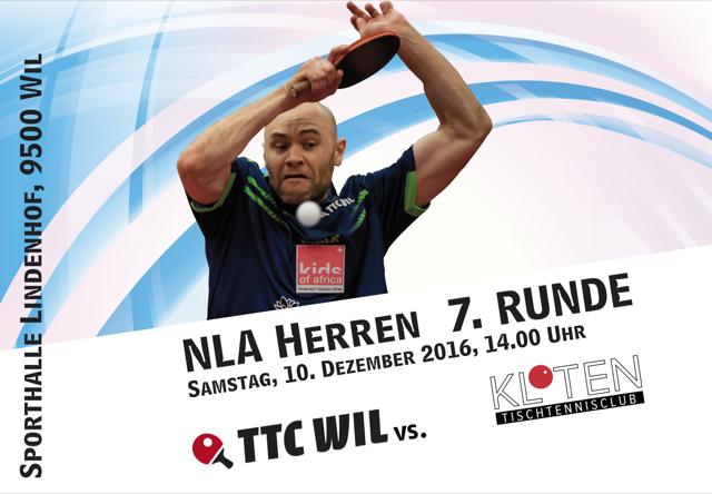 TTC Wil: Letzte Doppelrunde vor den Play-Offs