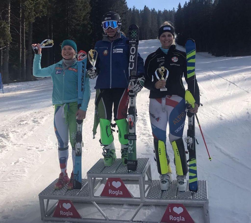 Ein Top-Resultat in Slowenien