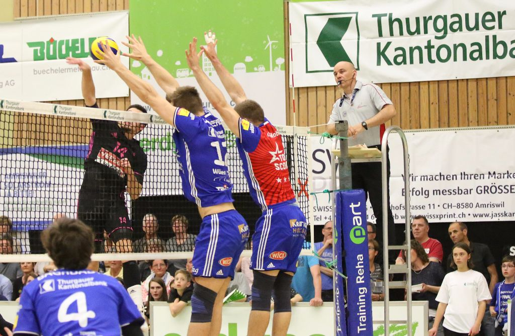 Volley Amriswil gewinnt das erste Finalspiel