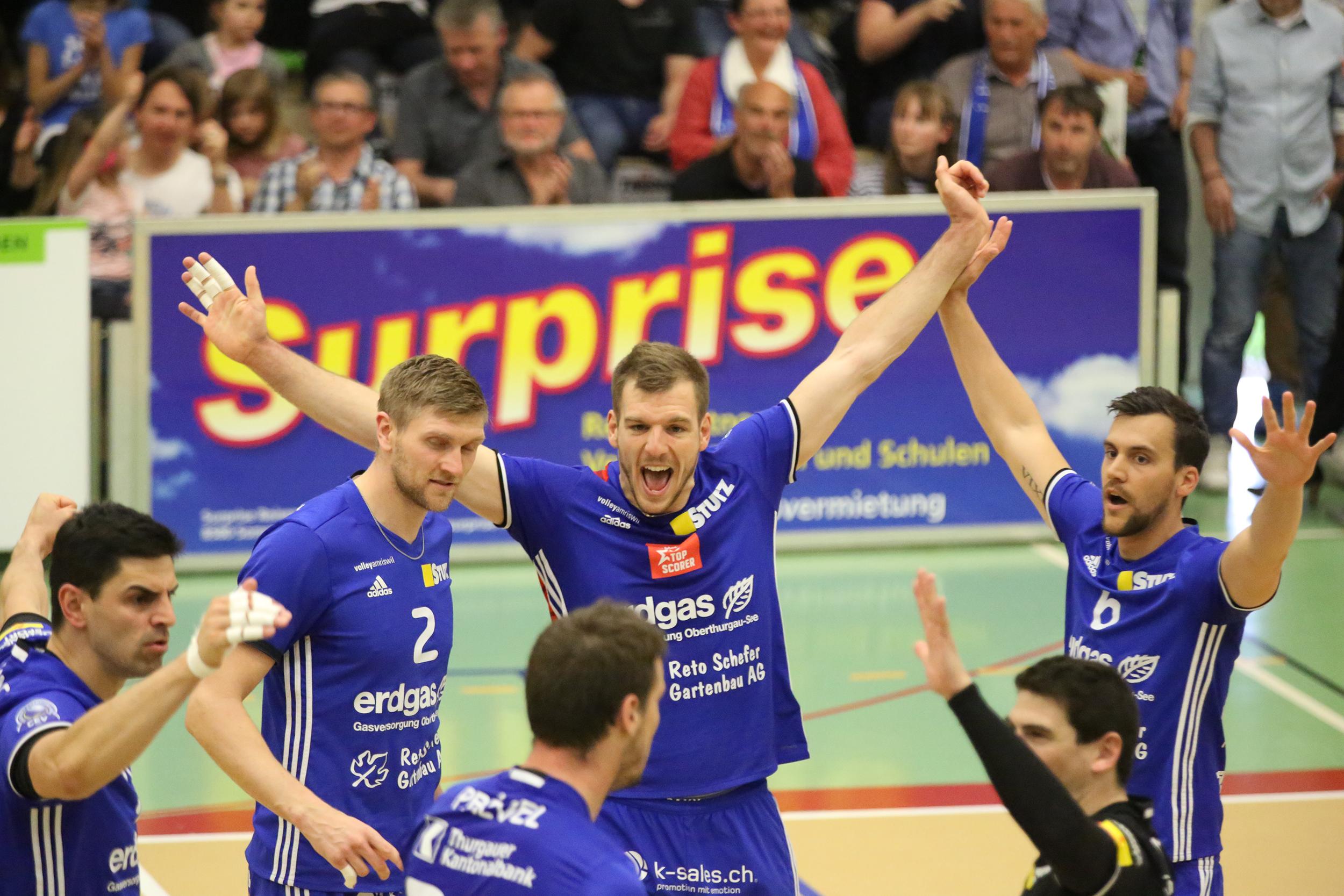 Volley Amriswil gewinnt auch das zweite Spiel