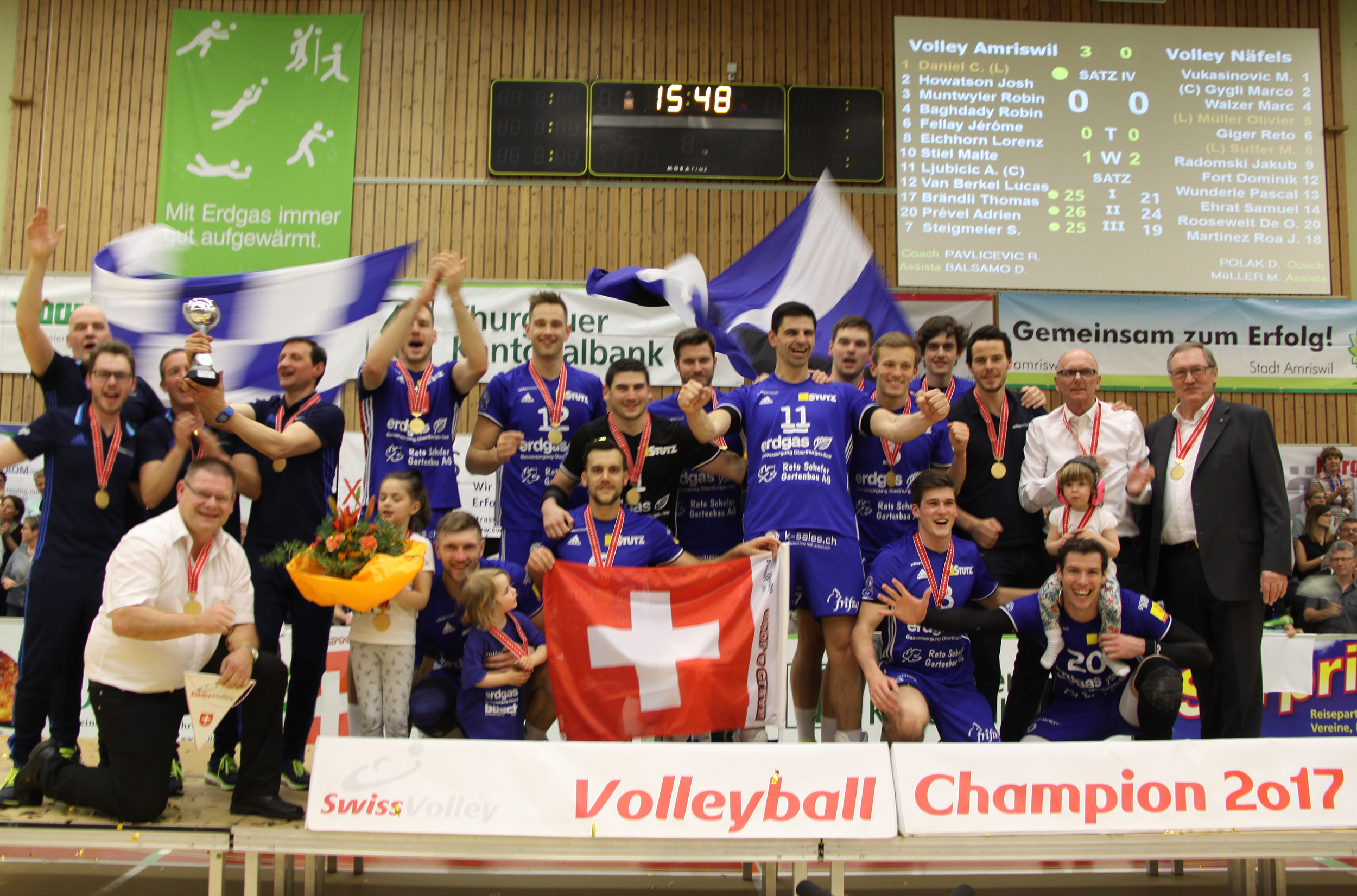 Volley Amriswil holt das Double!