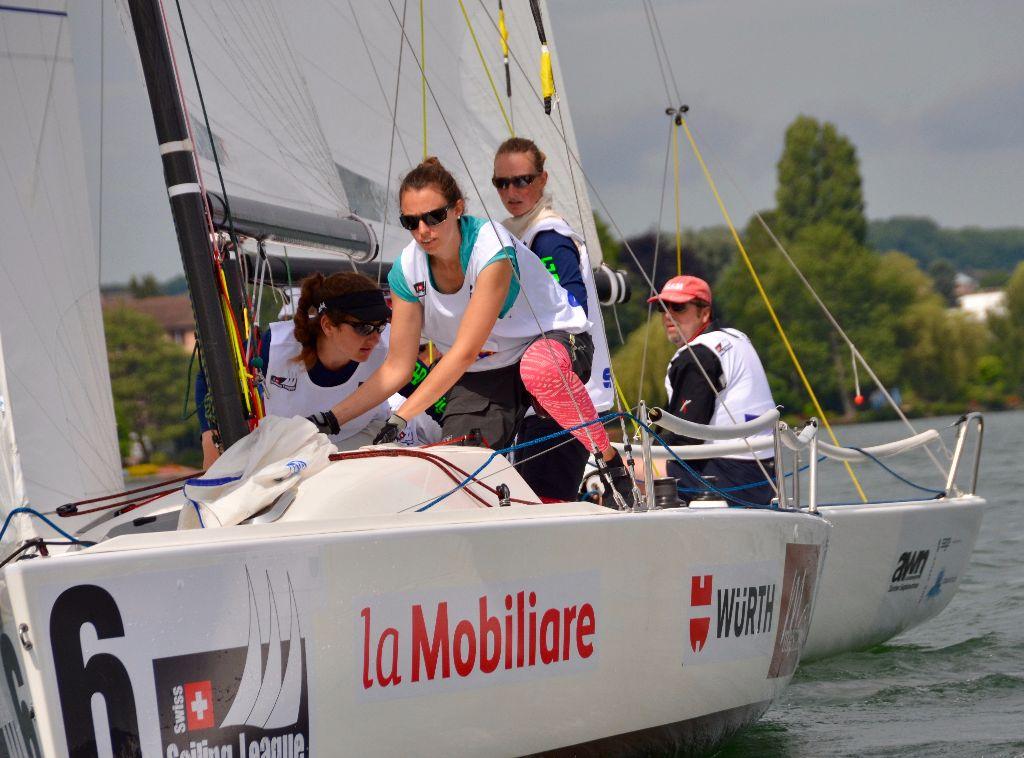 Spannender Kampf um die Spitze an der Swiss Sailing Challenge League