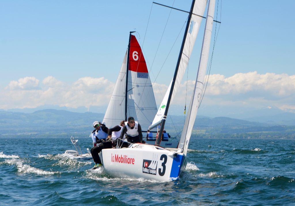 Kann Versoix die Führung in der Swiss Sailing Challenge League ausbauen?