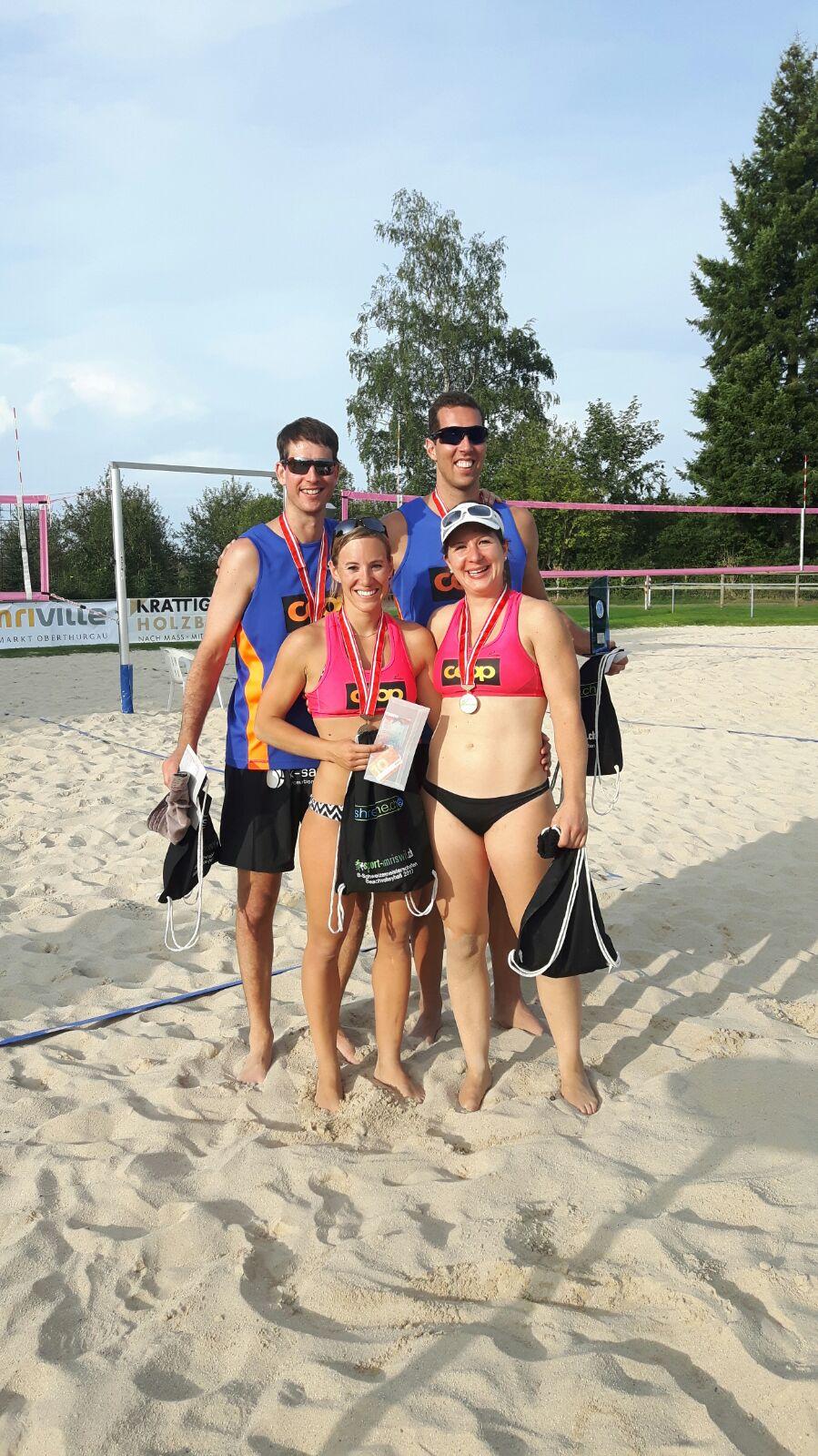 Beachvolleyball B-Schweizermeisterschaft