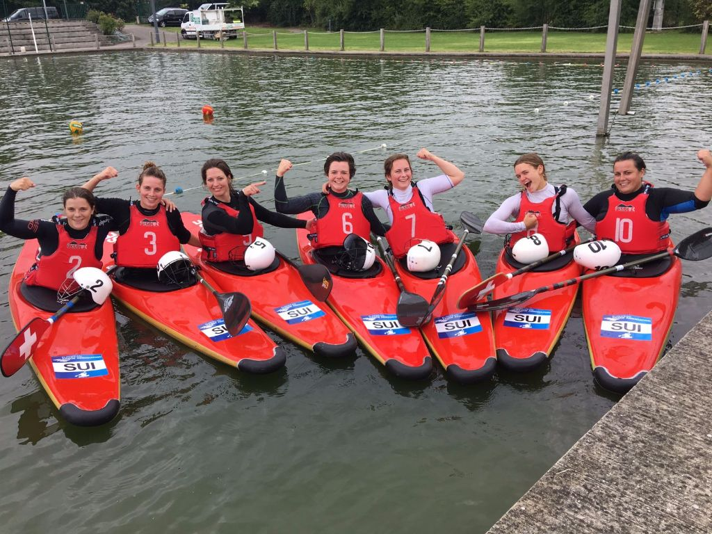 Kanupolo-EM: Schweizerinnen holen Bronze